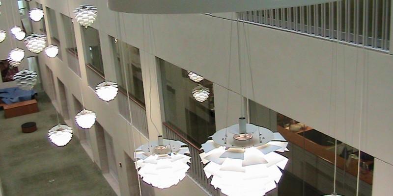 UMass Boston Atrium