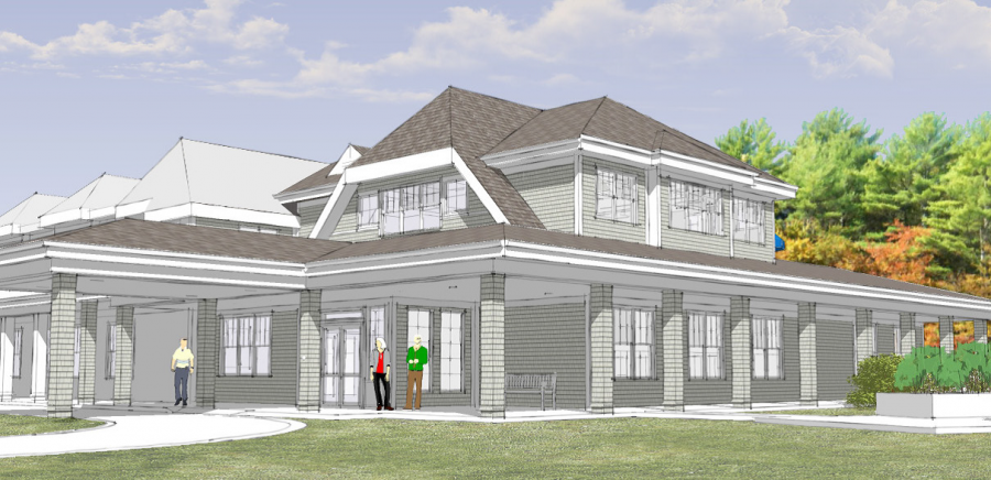 Steffian Bradley Rendering for Duxbury Senior Center